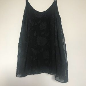 Gentle Fawn Black Tank Top